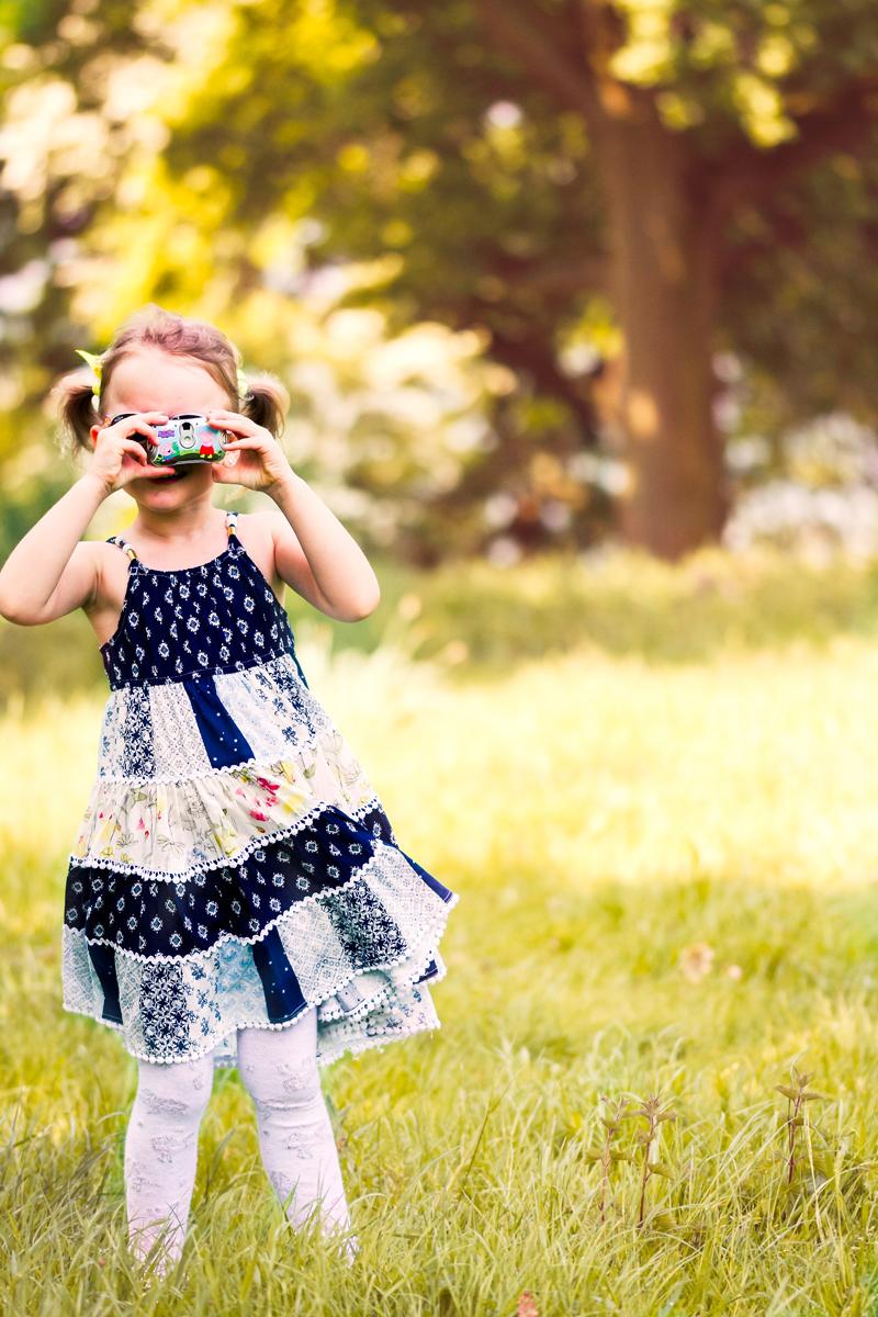 La fotografía para niños es ideal como entretenimiento