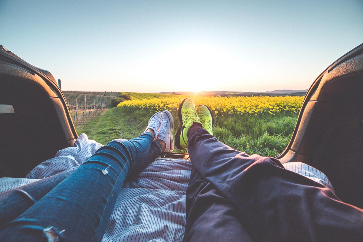 Cherchez aussi à prendre des photos de levers et de couchers du soleil