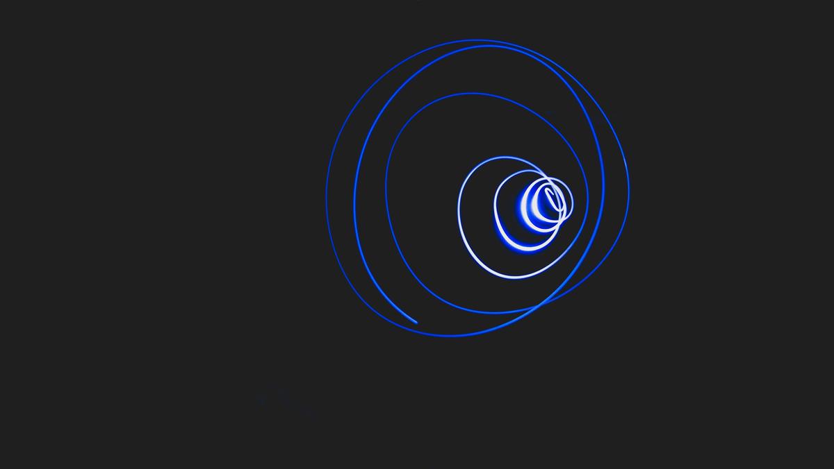 Espirales de luz