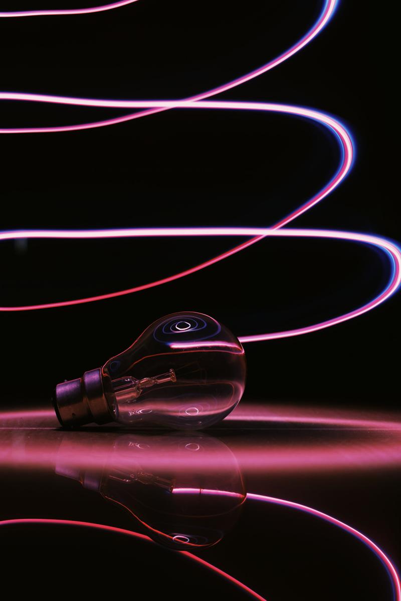 Proyectos fotográficos divertidos: trazas de luz