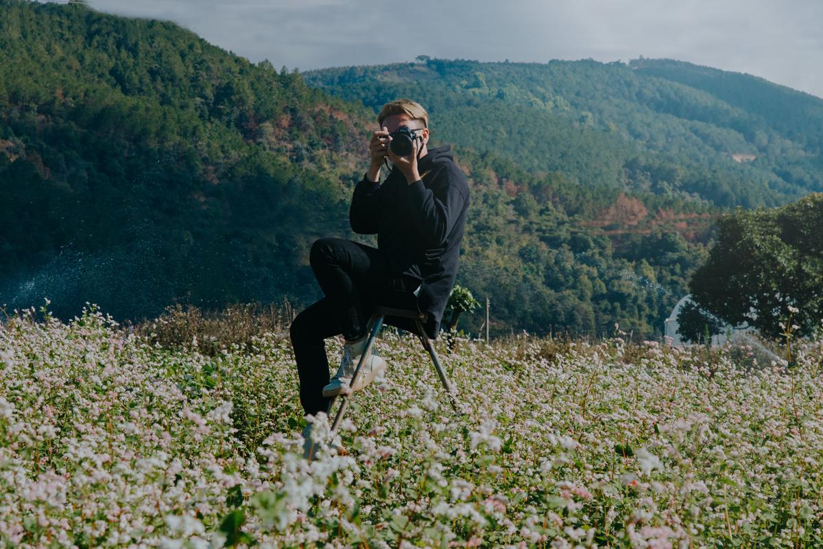 Fotografiando en el campo
