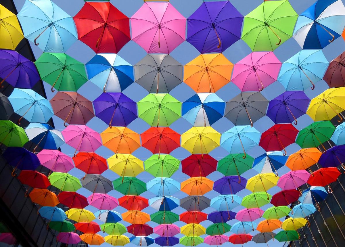 Les couleurs saturées expriment la joie