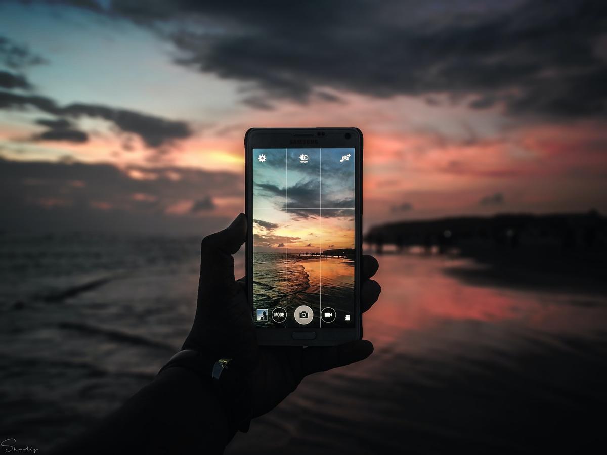 Selecciona la exposición en tus fotografías con un móvil
