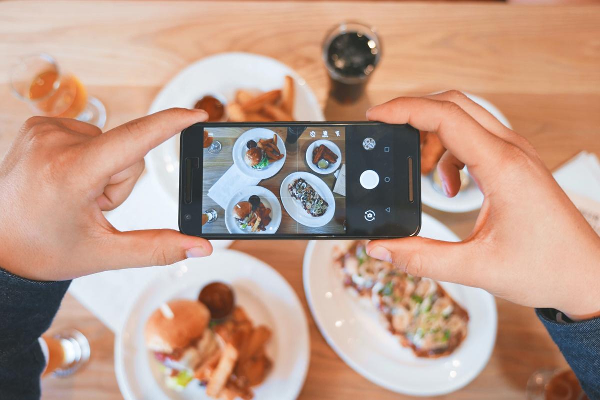Fotografías con un móvil: Retrata tu comida