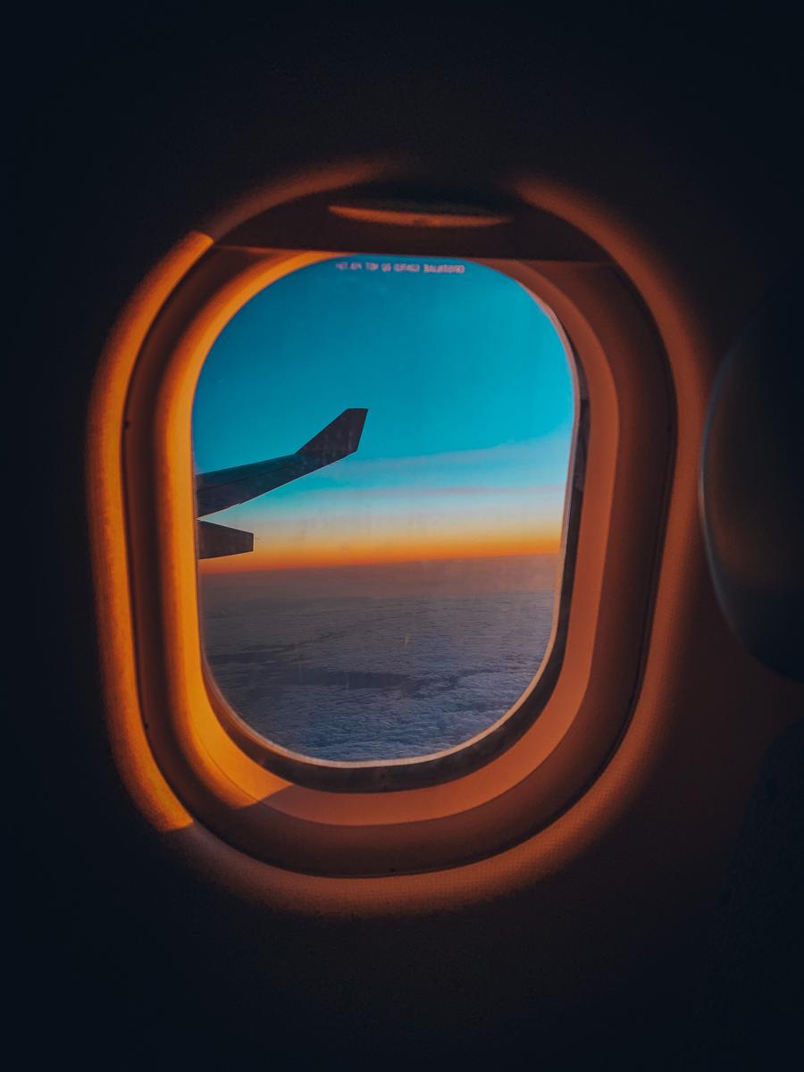 Desde un avión