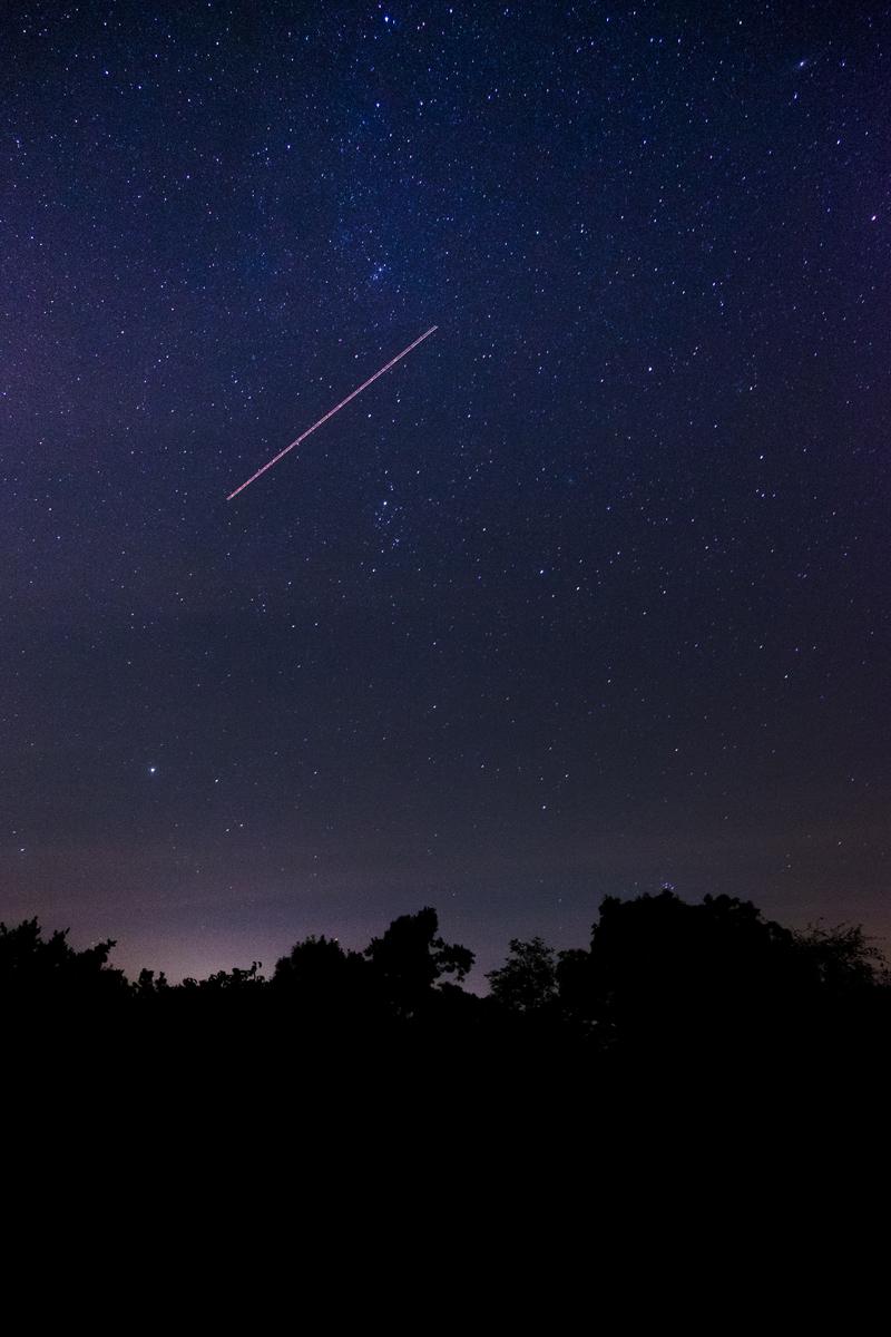 Fotografiar estrellas fugaces