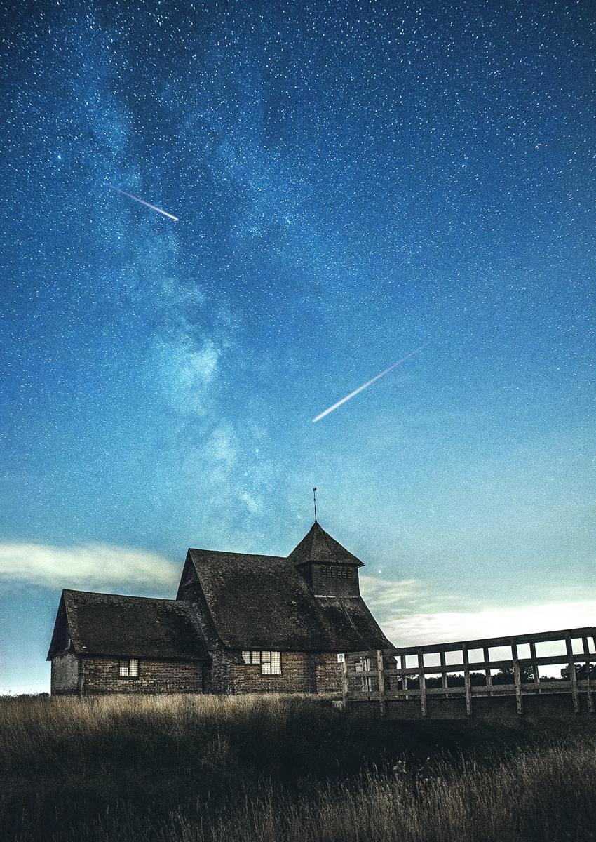 Fotografiar estrellas fugaces: Usa la máxima apertura