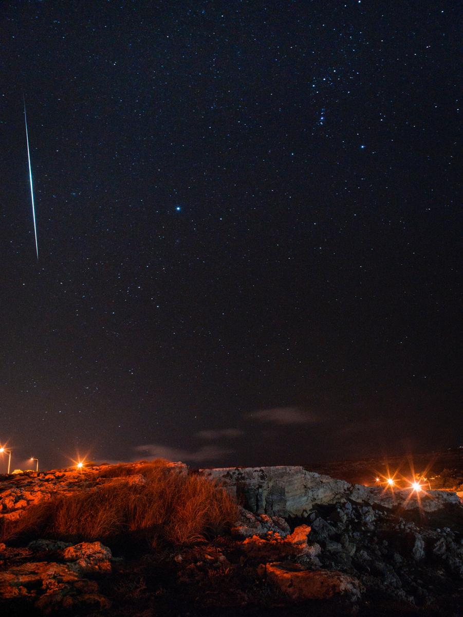 Fotografiar estrellas fugaces: ¿Qué ajustes usar?