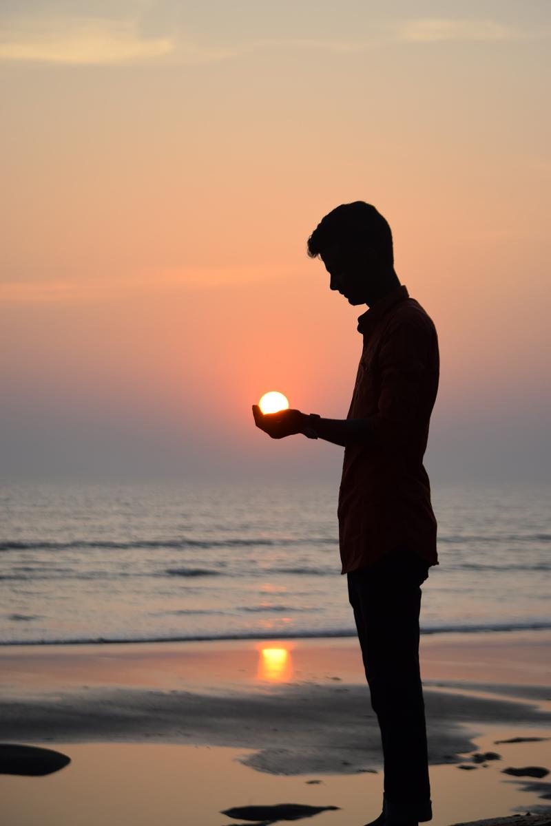 Fotos de amaneceres y atardeceres: Cogiendo el sol