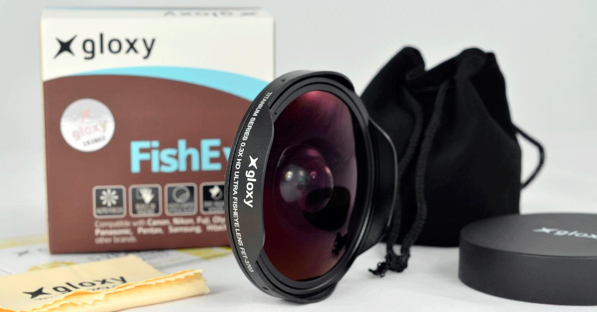 Lentilles de conversion fish eye