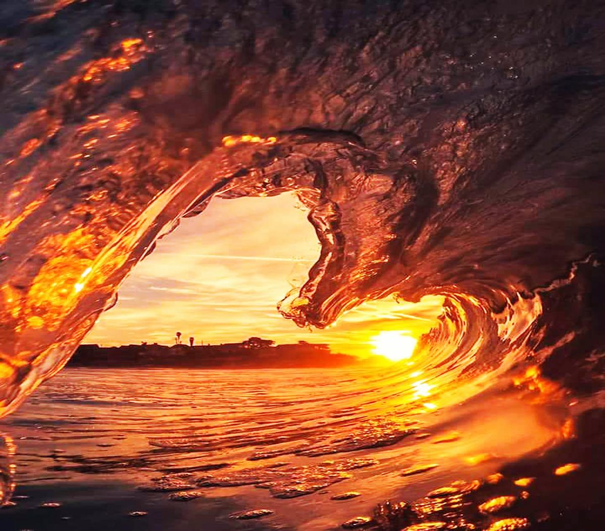 Fotos de amaneceres y atardeceres: enmarcando el sol