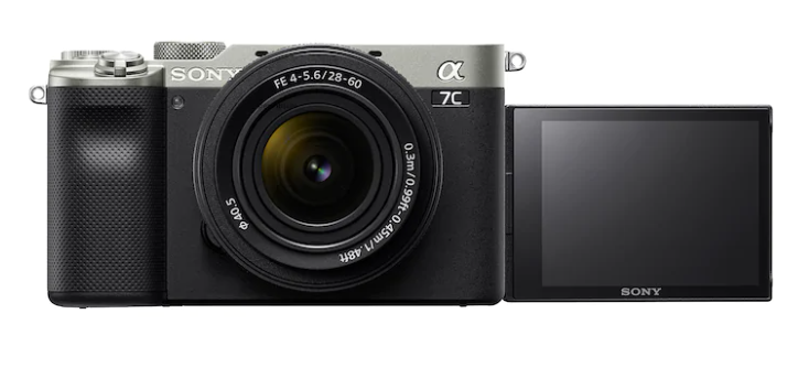 Aspect externe du Sony A7C