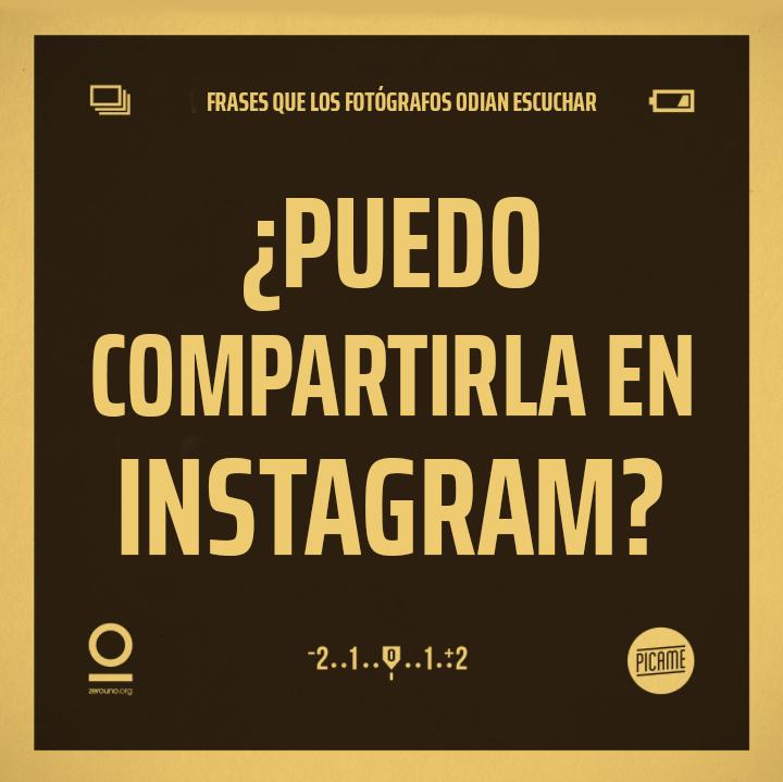 ¿Puedo compartirla en Instagram?