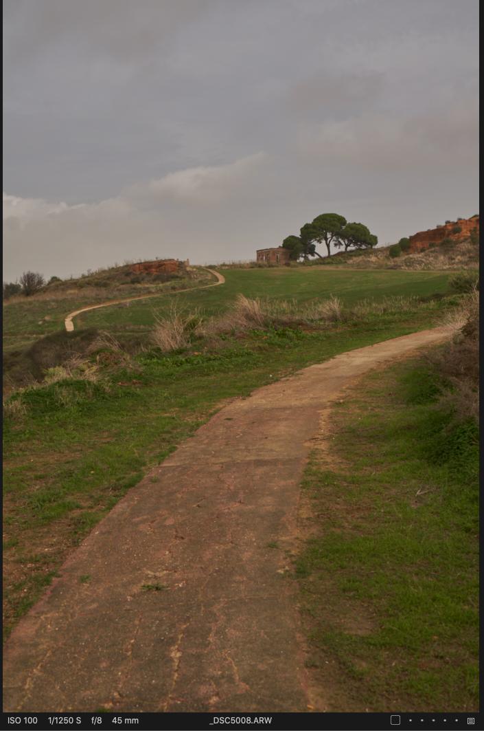 También me gusta usar el Irix 45mm f/1.4 para paisajes