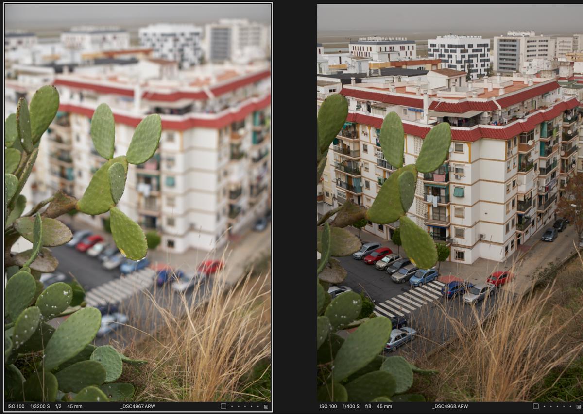 También se puede usar la hiperfocal con este Irix 45mm f/1.4