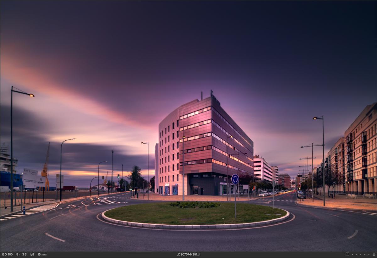 Fotografía realizada usando el Irix Edge IFH-100-PRO