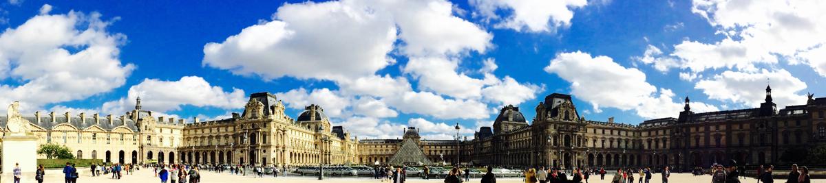 Captura la inmensidad de Louvre