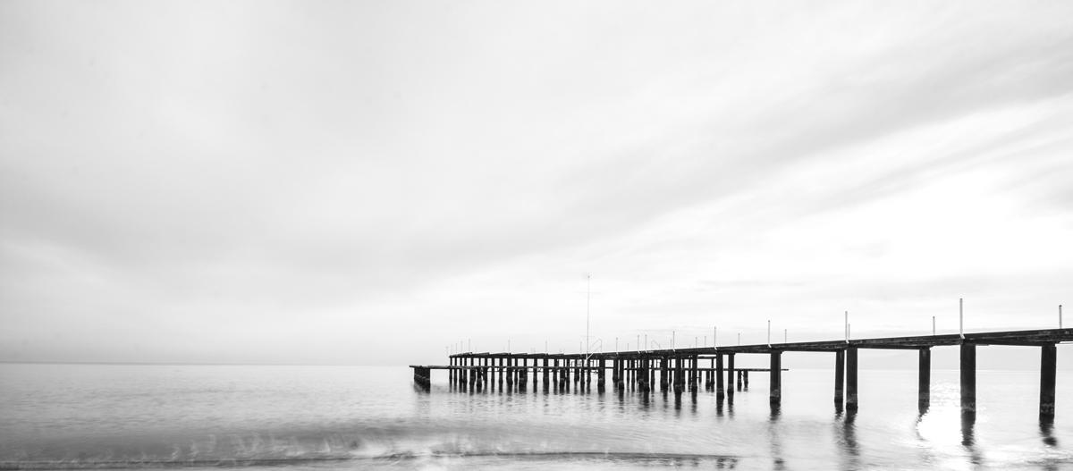 Fotos panorámicas originales: Usando el blanco y negro