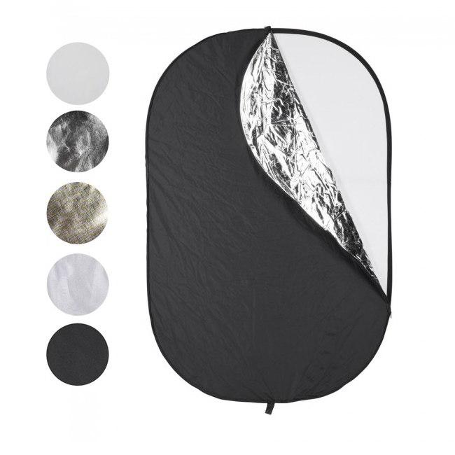 Reflector cuadrangular