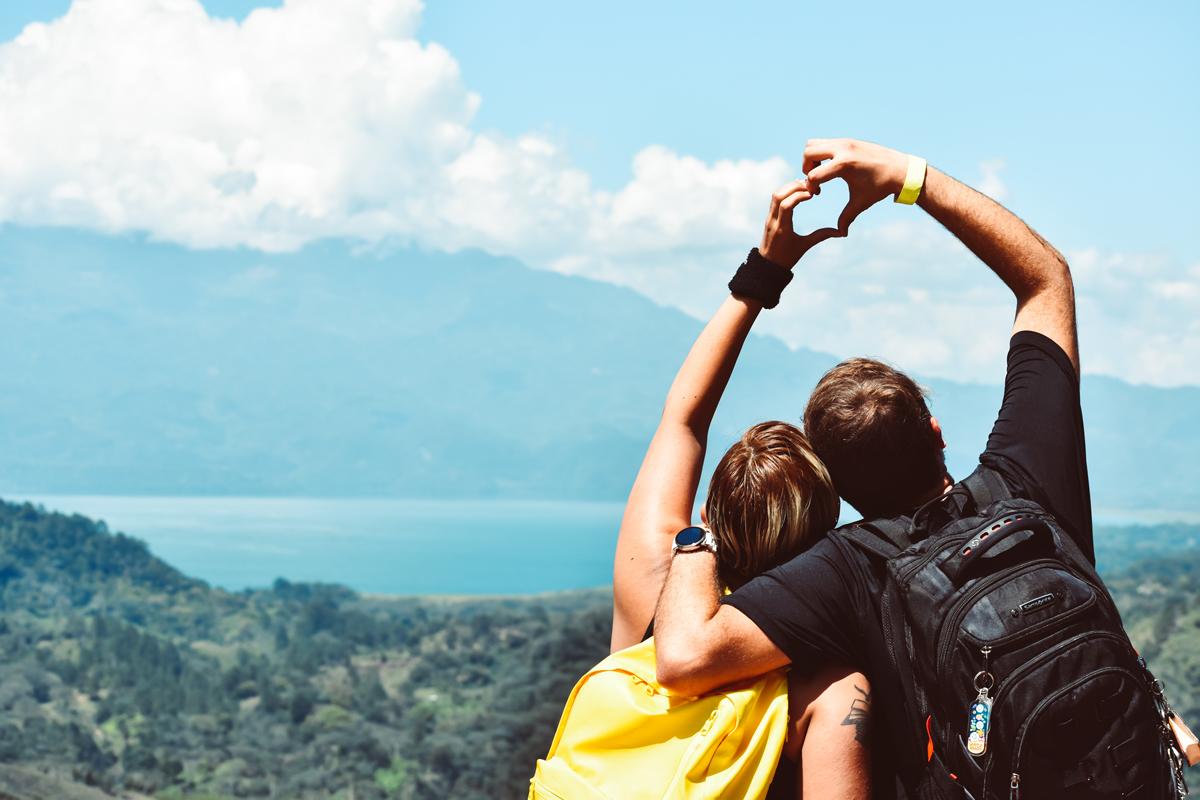 Puedes proponer escapadas aventureras a la pareja