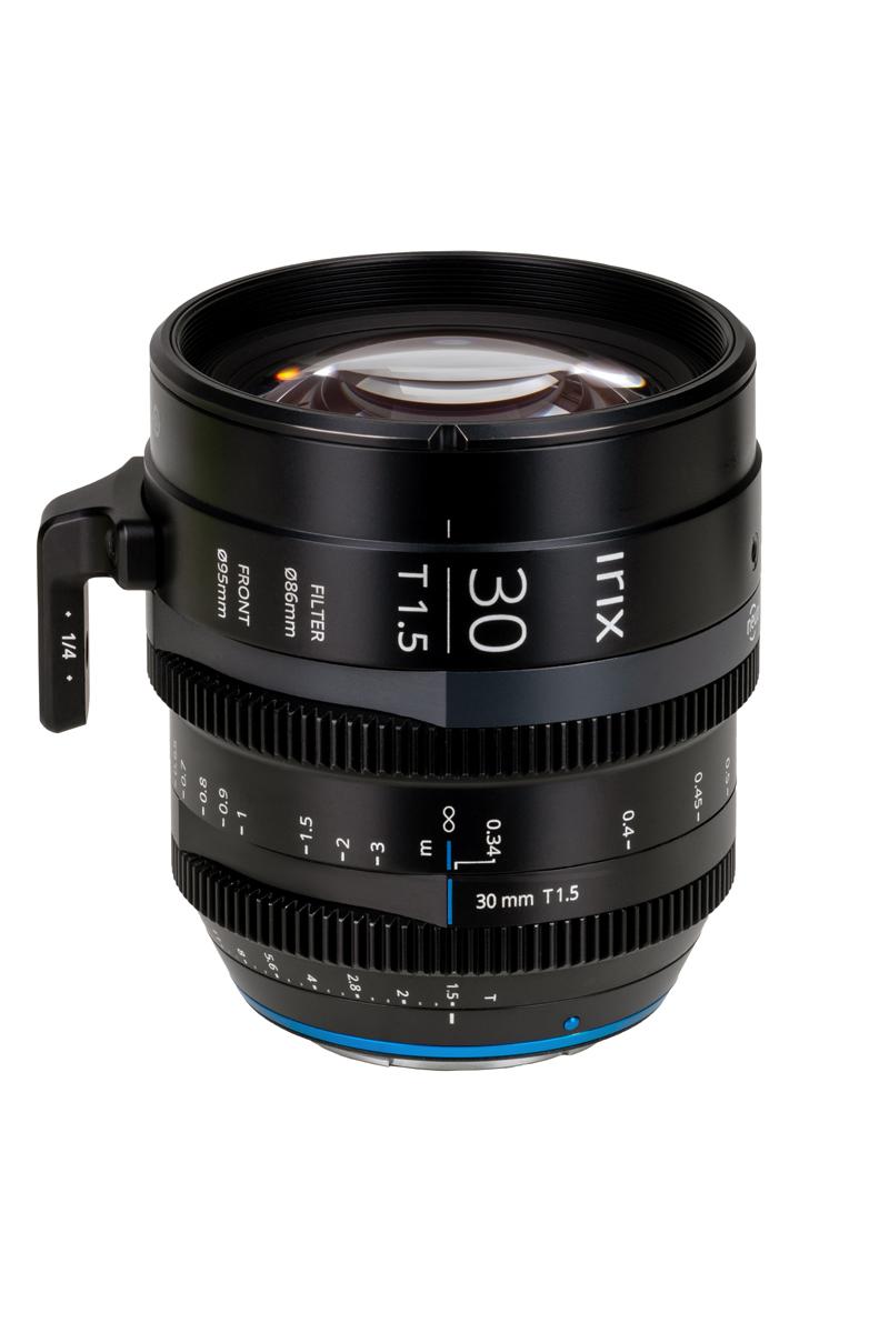 Irix Cine 30 mm T1.5 : système de monture magnétique