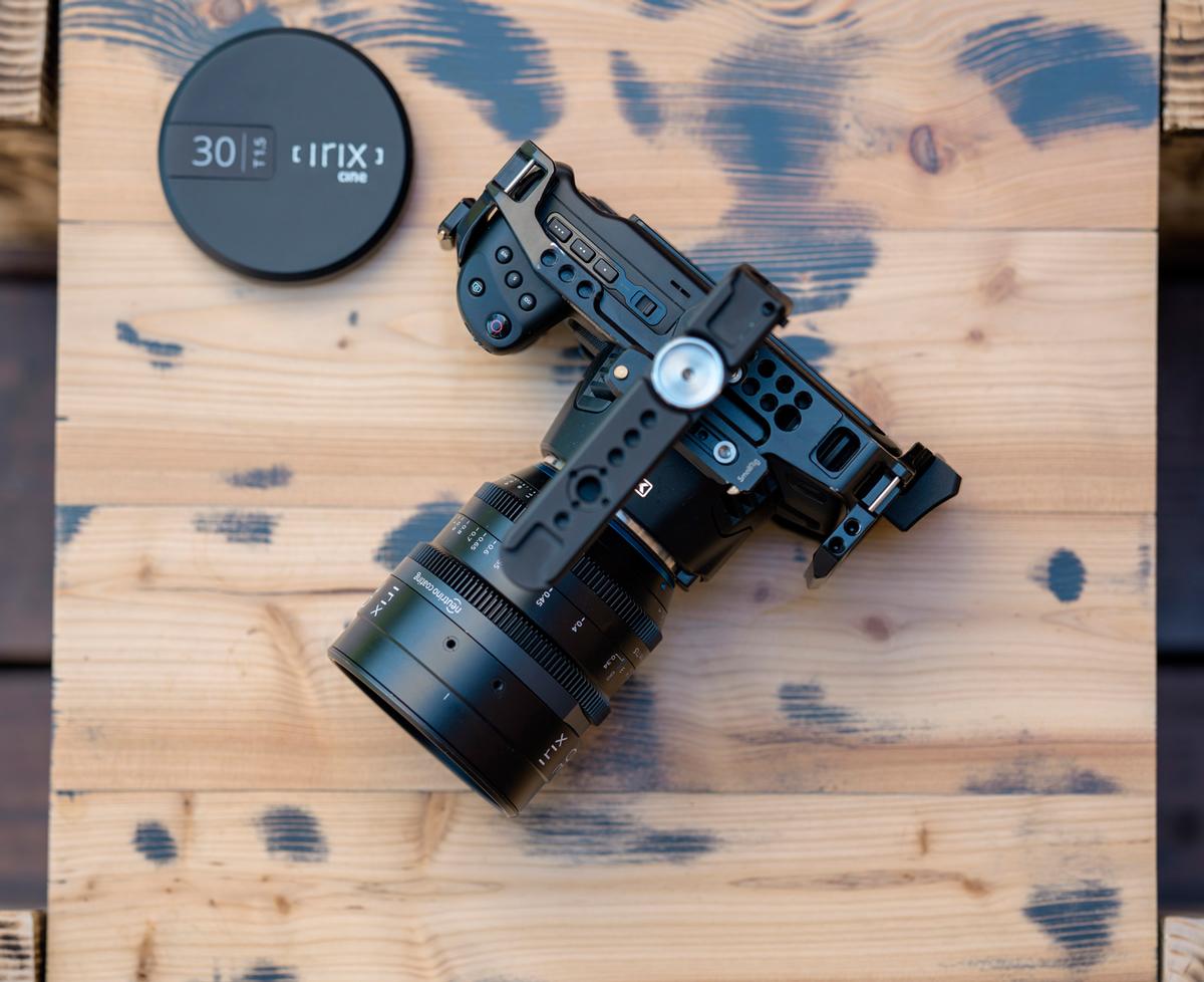 Irix Cine 30 mm T1.5 : nouveau cache avant